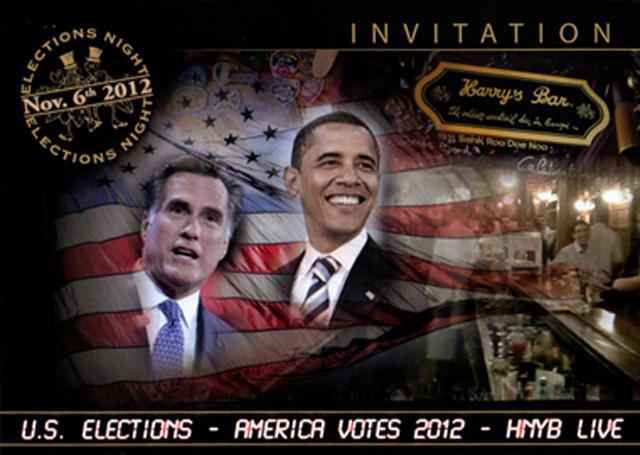 «Straw Vote» au Harry's Bar !